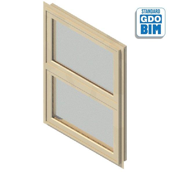 Window 1 Panel Side Hung 1200 x