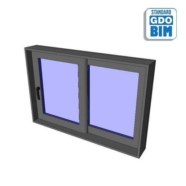 Horizontálne posúvanie okna