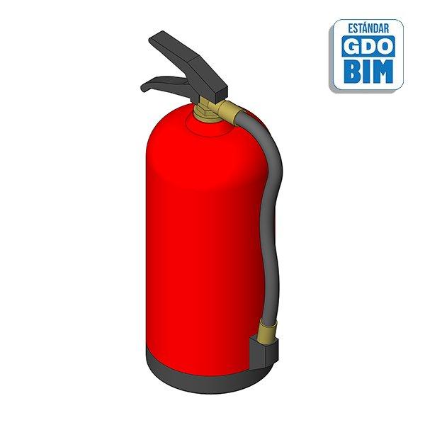 Extintor de polvo ABC - 6Kg