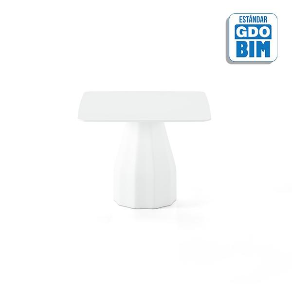 Burin Table H74 100x100 - BUC100