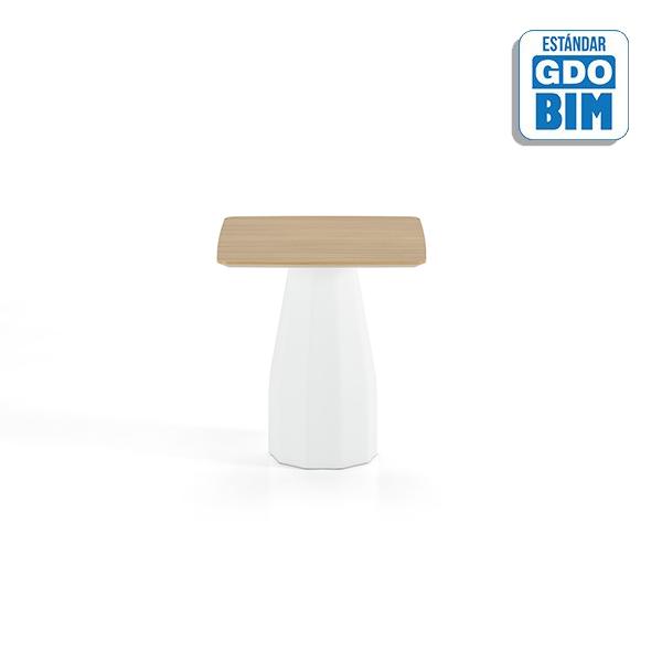 Burin Table H74 70x70 - BUC70