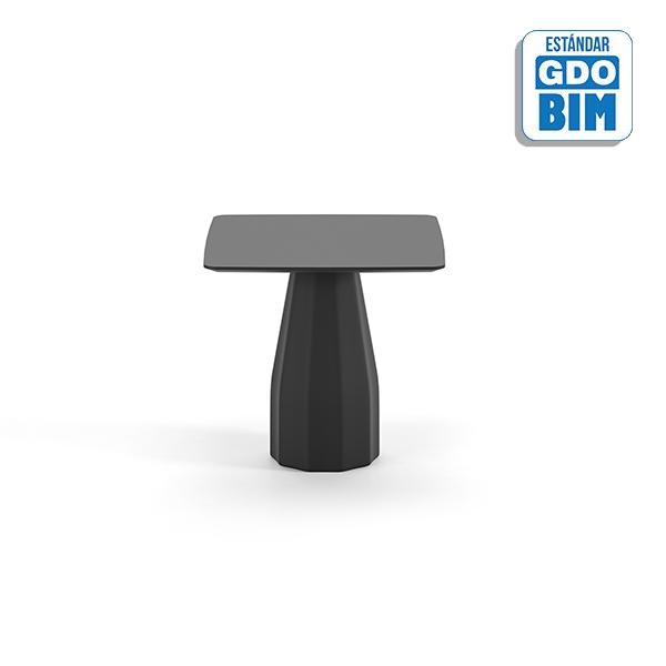 Burin Table H74 90x90 - BUC90