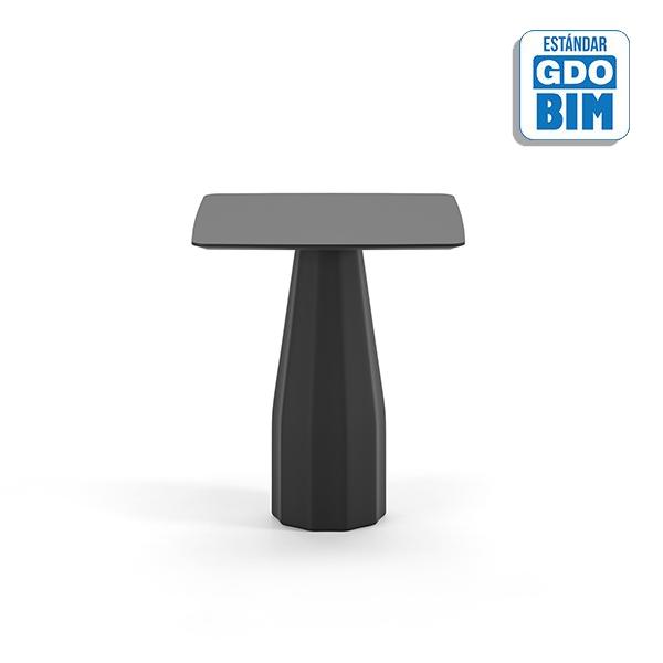 Burin Table H74 90x90 - BUC90H