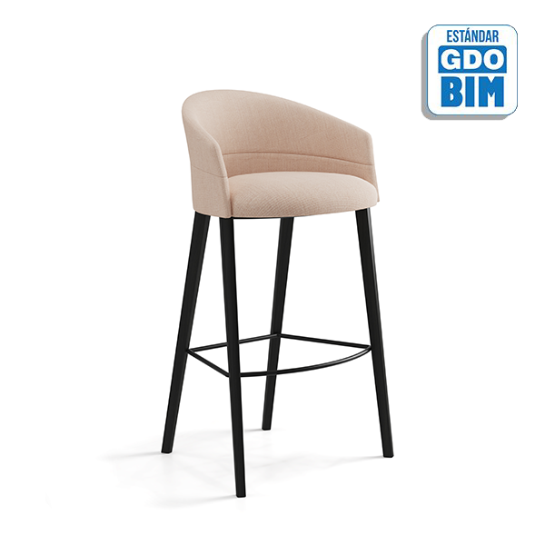 Copa Counter Stool Four Wooden L