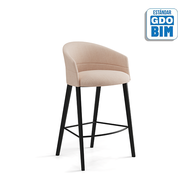 Copa Counter Stool Four Metal Le