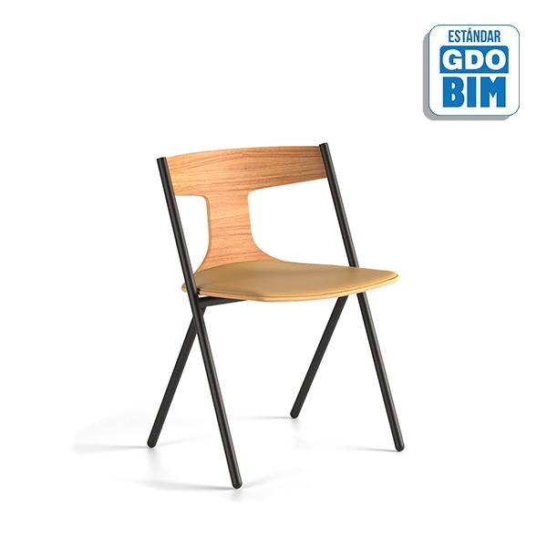Quadra Chair with Cushion - QUAR
