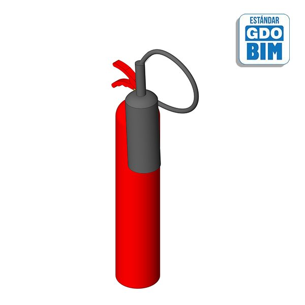 Extintor CO2 - 5Kg