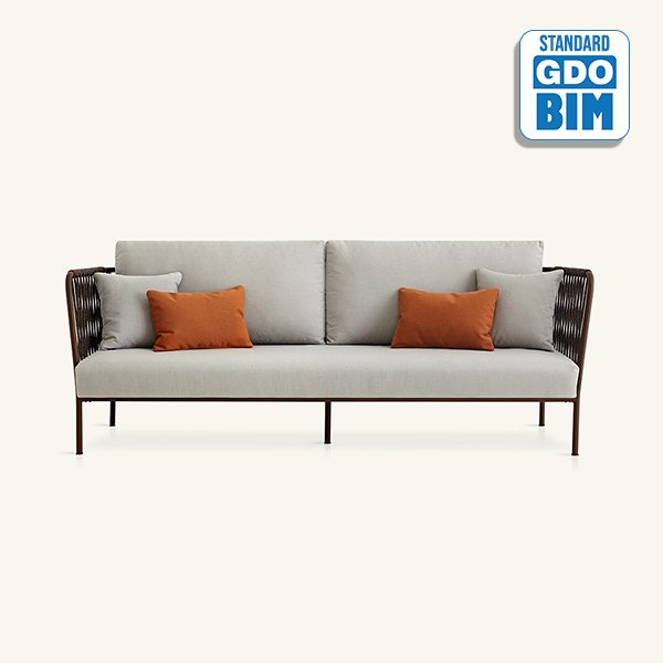 Nido XL hand-woven sofa Javier P