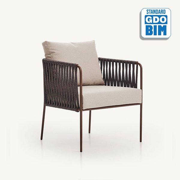Nido low armchair Javier Pastor