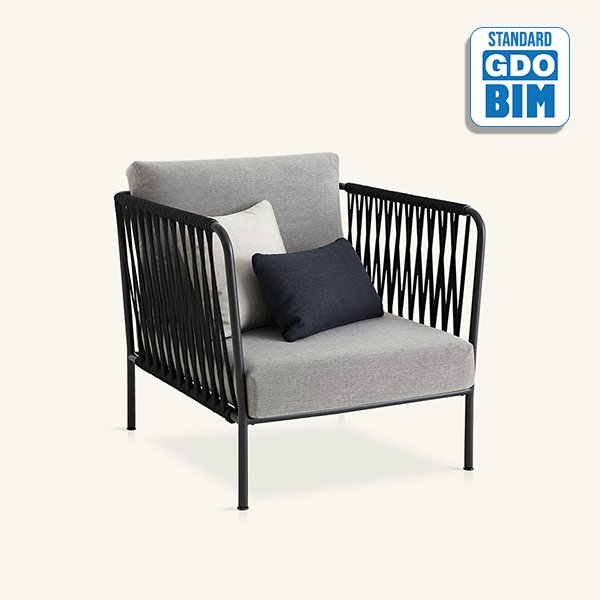 Nido hand-woven armchair Javier