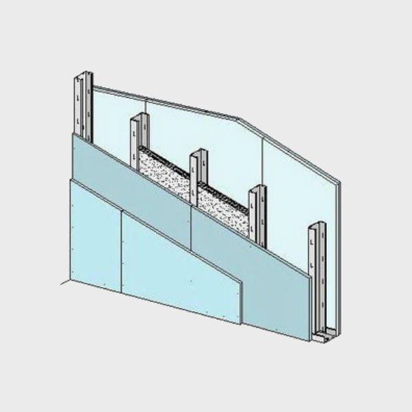Sistema deTabiques con Estructur