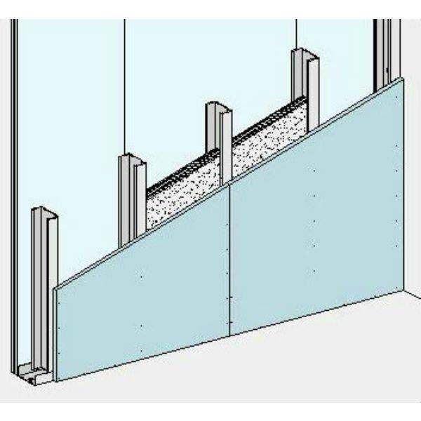 Tabiques con estructura metálica