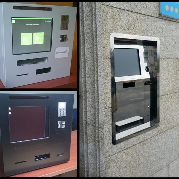 Kiosco de check-in - Ictel Ingen