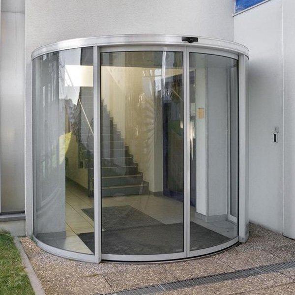 Puerta Corredera Semicircular Au