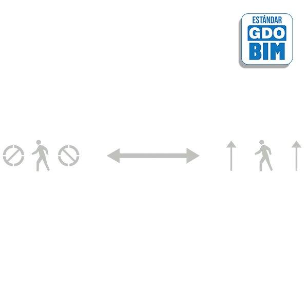 Señal o señalización en BIM para