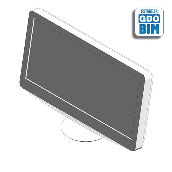 Televisión HD, pantalla LCD 20 p