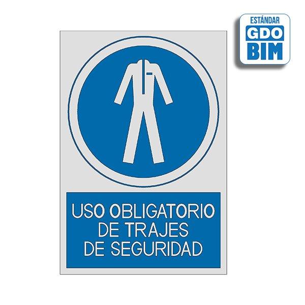 Señal Uso obligatorio de trajes