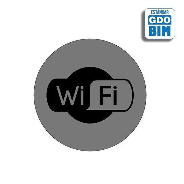 Señal Wifi con logo blanco y neg
