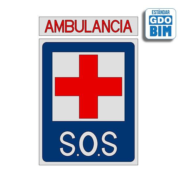 Señal Base de ambulancia
