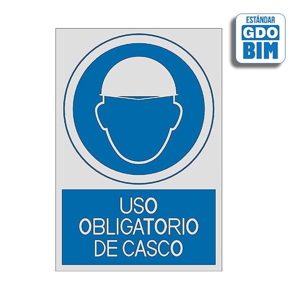 Señal Uso obligatorio de casco