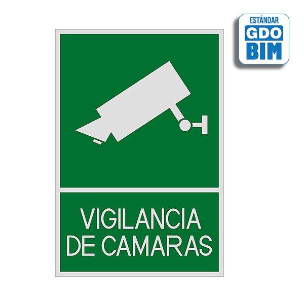 Señal Videovigilancia de cámaras