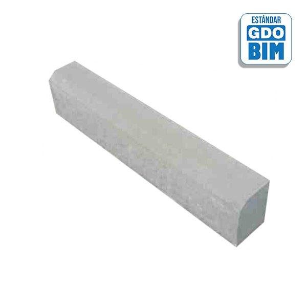 Bordillo hormigón 200x140mm
