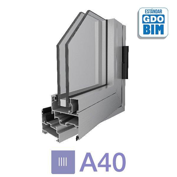 Sistema A40 Paño Fijo