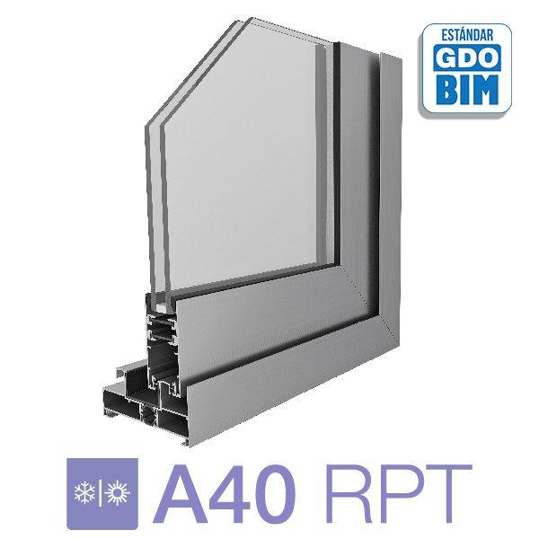 Puerta A40 RPT Corrediza de dos