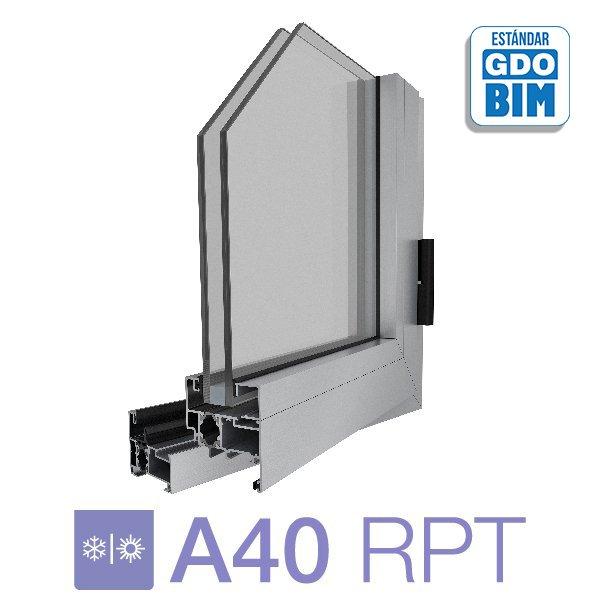 Sistema A40 RPT  Ventana de abri