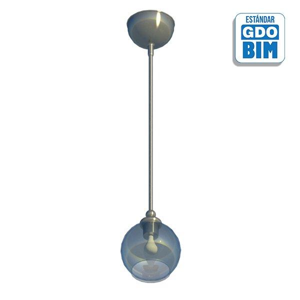 Lámpara de techo esférica