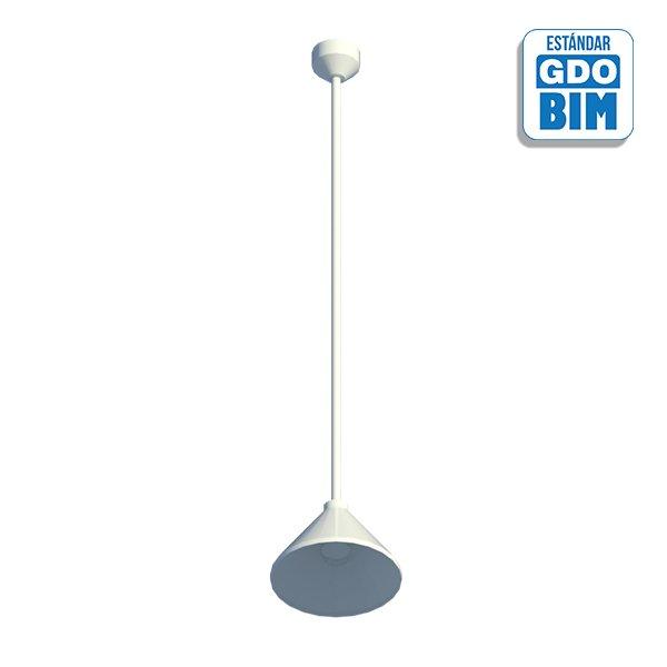 Lámpara de techo campana