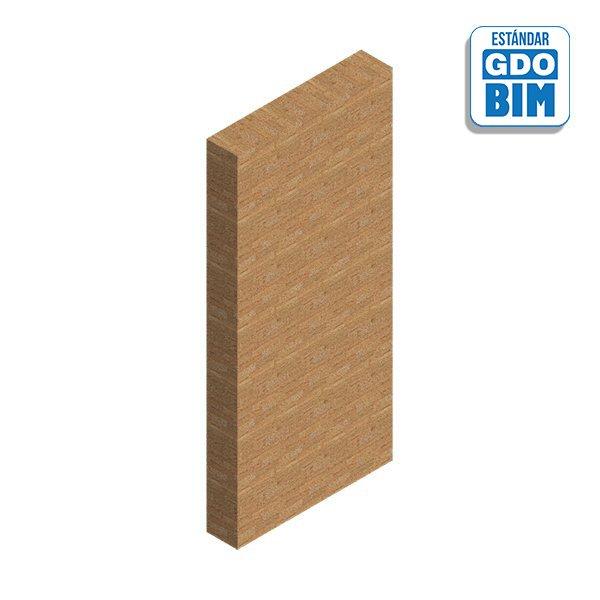 Columna de madera estructural -