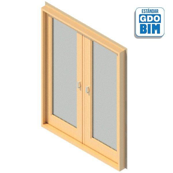 Puerta Exterior 2 Panel Vidriado