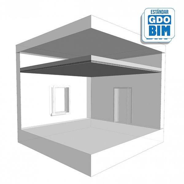 Sistema de techos MF en área  se