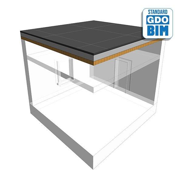 CLT Ausstattung Dach im Wohngebi
