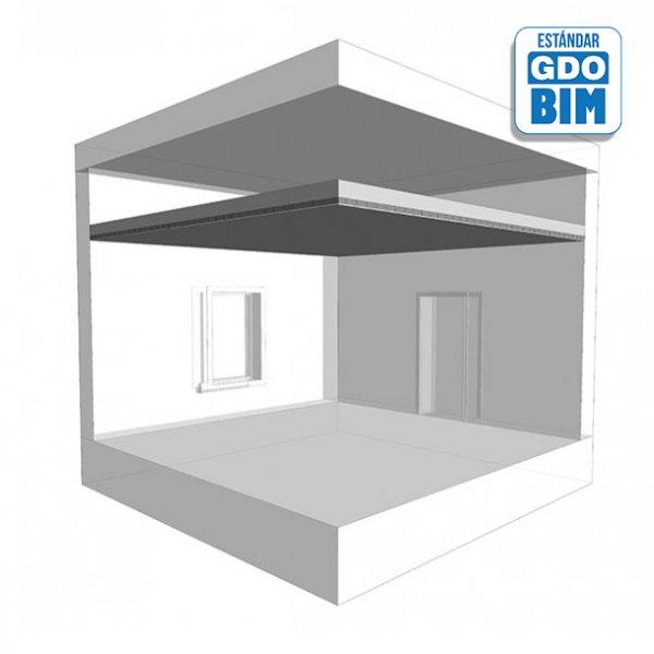 Sistema de techos MF en Interior