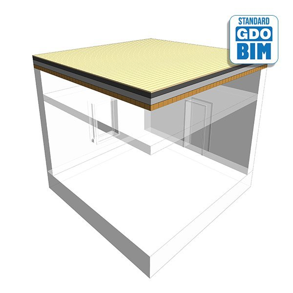 CLT Dach im Terrasse über Büro 4