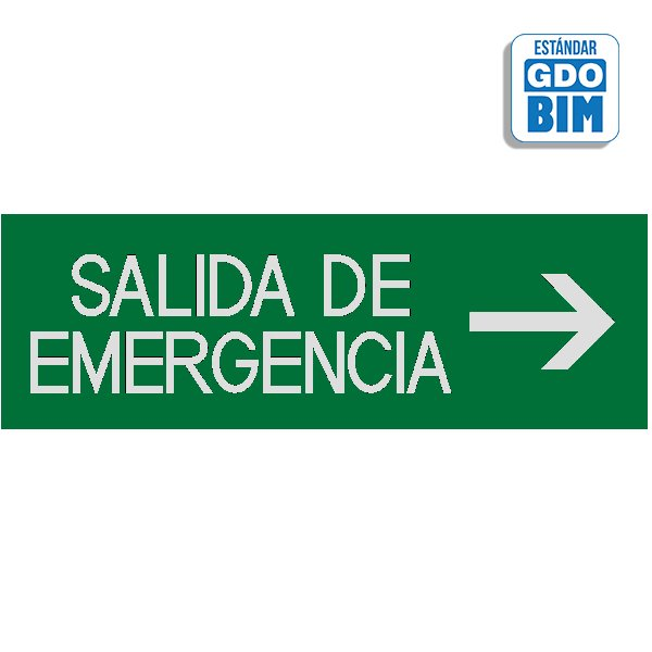 Señal salidas de emergencia dere