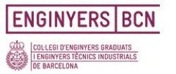 Logo Col·legi d'Enginyers Graduats i Enginyers Tècnics Industrials de Barcelona