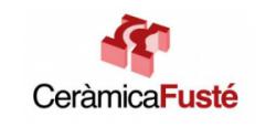 Logo Cerámica Fusté, S.A.