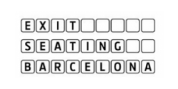 Logo Exit Seating Barcelona, S.L.